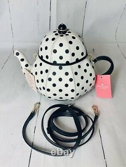 NWT Disney Kate Spade Alice in Wonderland Teapot Crossbody And Coin Purse Set