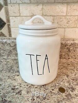 New Rae Dunn Set! Canisters, Coffee Tea Sugar Flour Butter Dish, Tea Pot