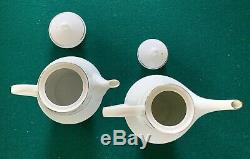 Noritake MARYWOOD 2181 Coffee Pot & Tea Pot Set EXCELLENT & UNUSED