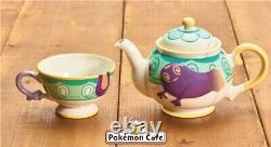 PSL Sinistea Tea cup & Polteageist Teapot set Pokemon Center Limited from Japan