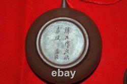 Pair (x2) Set of teapots Yi Xing pottery Yixing clay