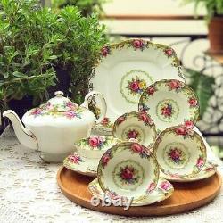 Paragon Tapestry Rose Tea Set (Including HTF Teapot)