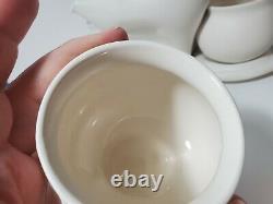 Peter Saenger Nesting Tea Set Design I White Matte Star Trek
