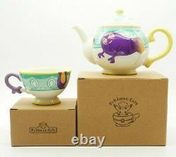 Pokemon Yabacha Teacup Teapot Set Polteageist Pokemon Cafe Limited NEW JAPAN