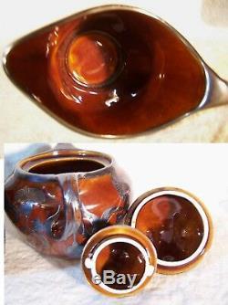 RARE 3 pc Antique LENOX Sterling Silver ART NOUVEAU Overlay Coffee Tea Pot Set