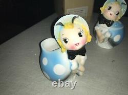 RARE Vintage Northern Imports Lady Bug Creamer and Sugar in Original Box