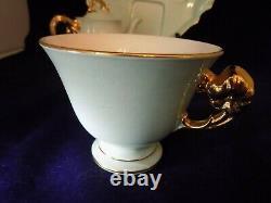RARE- Vintage Royal Winton GrimWades Golden Hibiscus Breakfast Set Teapot