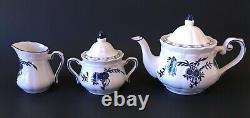 RMS Titanic 2nd Class Tea Pot Set White Star Line Artifact Collection Replica