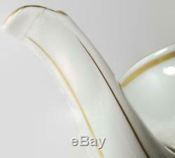 Richard Ginori Italian Fruits Demitasse Set Teapot Creamer Sugar & Cups & Saucer