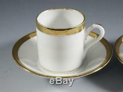 Richard Ginori Tea Set by Gio Ponti Teapot, Creamer, Sugar + 2 Cups & Saucers