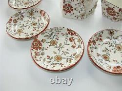 Ridgways Stoke on Trent Persia Child's Tea Set 11 pieces Lovely Antique 1880s