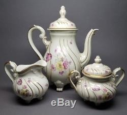 Rosenthal Parzival Continental Tea Set Coffee Pot Sugar Bowl Creamer Parsifal