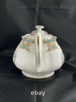 Royal Albert Bone China LADY ASCOT Tea Set Large Teapot Covered Sugar Creamer