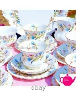 Royal Albert Brigadoon Tea Set With Teapot