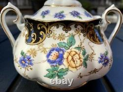 Royal Albert Duchess 3-Piece Tea Set (teapot, sugar bowl, and creamer)