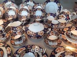 Royal Albert' Heirloom' Tea Set And Tableware English Bone China