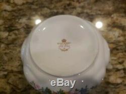 Royal Albert, Lady Carlyle, Teapot, Creamer & Sugar Set
