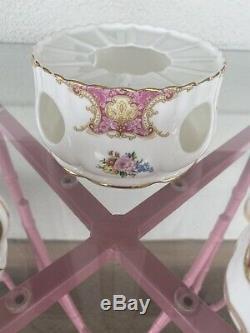 Royal Albert, Lady Carlyle, Teapot, Creamer, Warmer, & Sugar Set