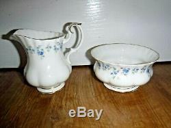 Royal Albert Memory Lane 21 Piece Tea Set Inc Teapot 1st Excellent