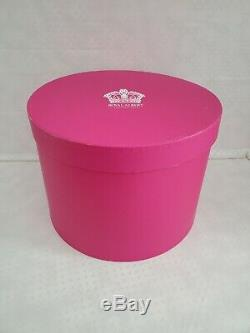 Royal Albert Polka Rose Tea Set Stackable Teapot Cup Saucer New in Box