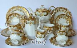 Royal Albert ROYALTY Teapot Coffee Pot Cups Saucers Plates Set