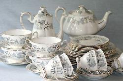 Royal Albert' Silver Maple' Tea Set And Tableware English Bone China