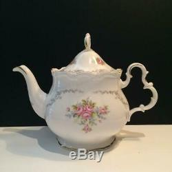 Royal Alberty Tranquillity Lot 6 Cup Teapot Cream & Covered Sugar Set Ch5336