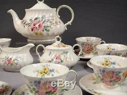 Royal Doulton ARCADIA Tea Coffee Set Teapot Creamer Sugar Bowl Bone China