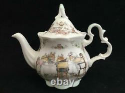 Royal Doulton Brambly Hedge Miniature Tea Service Set 17 Pieces All Seasons