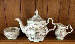 Royal Doulton Brambly Hedge Teapot with Sugar and Creamer Set