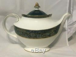 Royal Doulton Carlyle Teapot Cream & Sugar Three Piece Set
