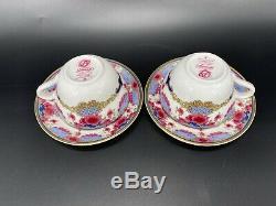 Royal Doulton Fairmont Empress Hotel Teapot Creamer Sugar Tea Cups Set England