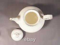 Royal Doulton Rhodes Gold TEA set Teapot Cups Sugar VINTAGE