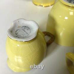 Royal Winton Grimwades Tea for One Set Teapot Toast Rack Jug Cherry Pattern