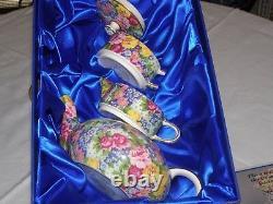 Royal Winton Stacking Teapot Set Julia Limited Edition No. 137 of 1000