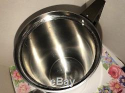 STELTON Coffee Pot Teapot Stainless Steel CYLINDA-LINE ARNE JACOBSEN Denmark