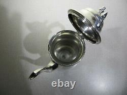 STERLING SILVER Tea Coffee SET By MANCHESTER Teapot Creamer Sugar Tray