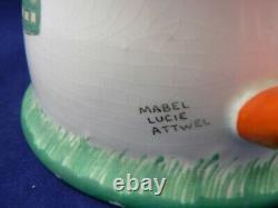 Shelley Boo Boo tea set Mabel Lucie Attwell c1930 SUGAR BOWL, TEAPOT & BOO BOO