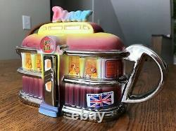 THE TEAPOTTERY Limited Edition Collectible TeapotEARL'S DINER681/2000UNUSED