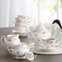 Tea Sets Women Vintage Porcelain Cups English Style Set Teapot Coffee Cup 11 Pcs