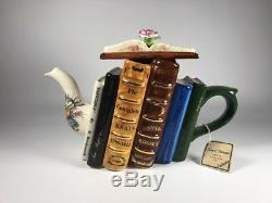 Tony Carter Made in England Limited Edition Poetry Lovers Teapot