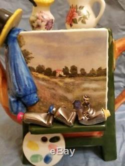 Tony Carter Teapot, Renoir, 3/26/97, Never Used