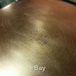 VINTAGE 15 pc Set Revere Ware USA Stainless Steel Copper Pots Pans Lids + teapot