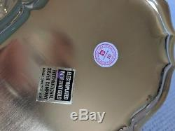 VTG 24kt Electroplated Gold Coffee/Tea Pot, Tray, Creamer, Sugar, Flatware