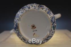 VTG Lefton China Art Nouveau Purple Paisley Floral Teapot Creamer Sugar Bowl Set