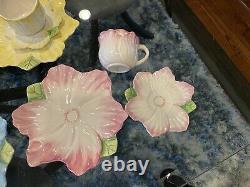 Vintage1992 Bombay Co. Tea set Flowers