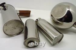 Vintage FREUD Cafetiere Teapot (Teaball) Milk Jug Sugar Sifter Set FREVD COFFEE
