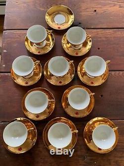 Vintage Flores Bavaria Porcelian Tea Set