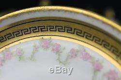 Vintage French Limoges Porcelain Lewis Strauss & Sons Tea Set