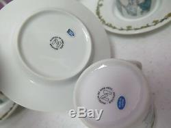 Vintage Kate Greenaway Demitasse Adult Child Tea Set Teapot Museum Fine Art New